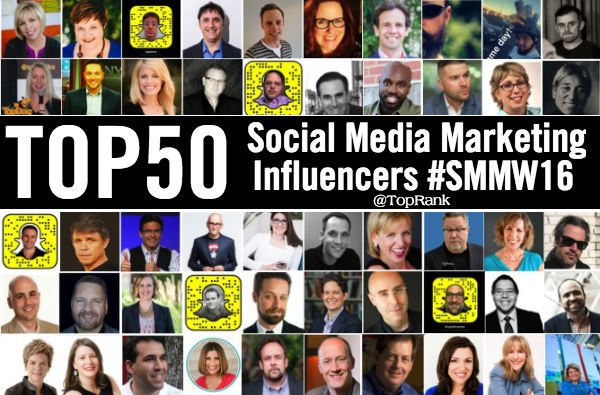 Are you following these 50 Social Media Marketing Influencers from #SMMW16 ?https://t.co/uWAPVBZ1E5 https://t.co/Ia7gFxbMIG