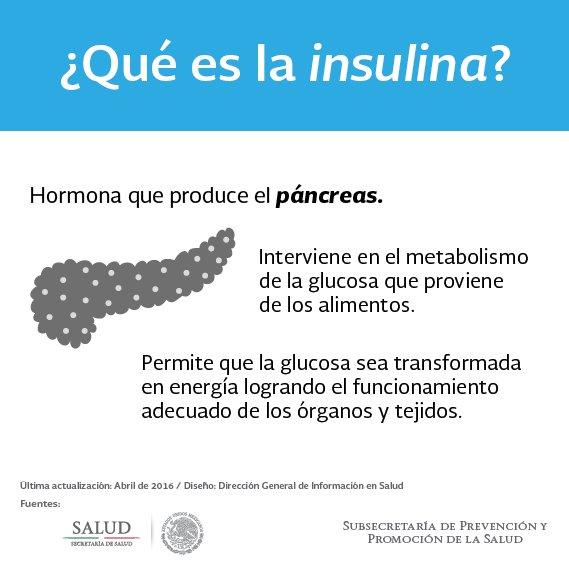 eldato #insulina: es una hormona que produce el páncreas, interviene ...