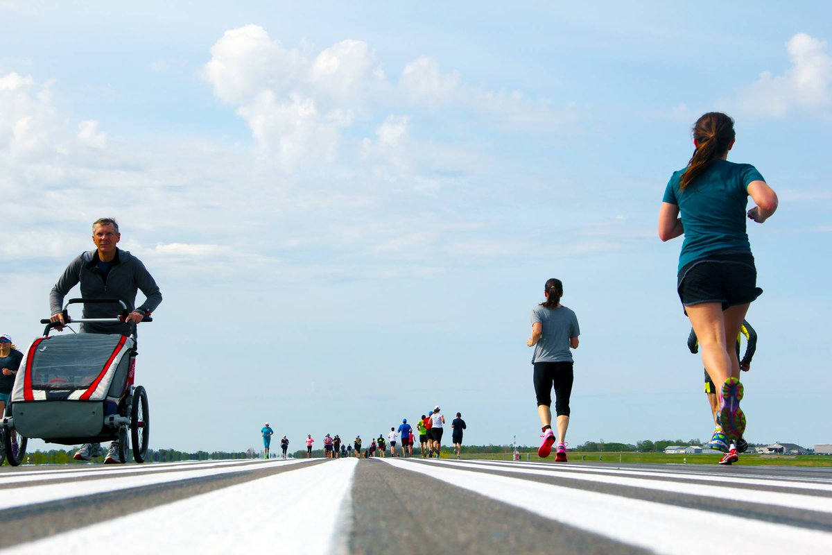 RT @flyYYG: Join us May 21 and get a chance to win a trip for 2 anywhere @WestJet flies pei runwayrun https://t.c…