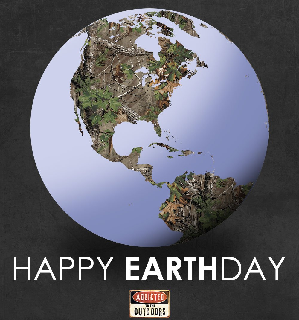 Even the Earth looks good in @Realtree camo!  #EarthDay https://t.co/WawfFMd47M