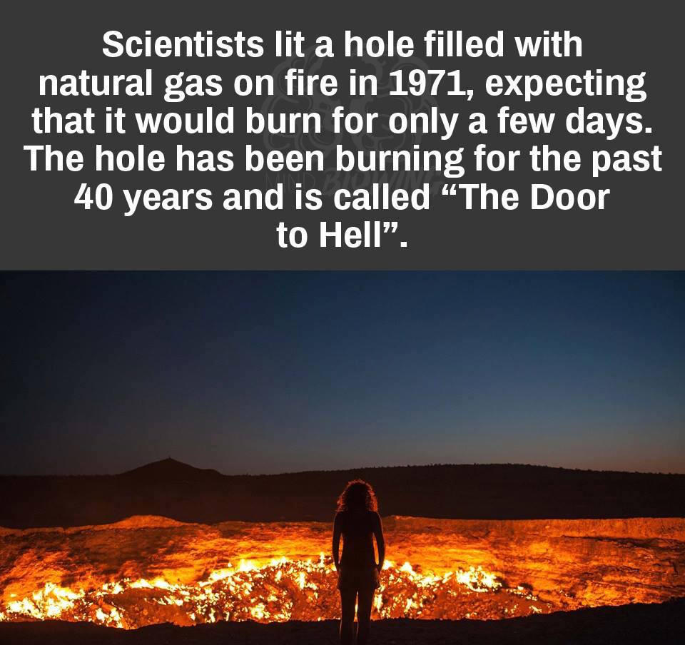 """The Door To Hell"" https://t.co/YoF8X6vayN"