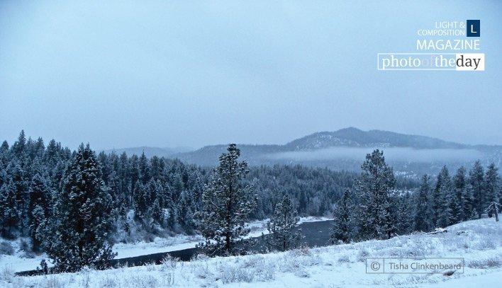 Clark Fork River in the Snow, by Tisha ... - https://t.co/472DWPIGUT - #Montana #Superior #TishaClinkenbeard https://t.co/YDhqNzeicN