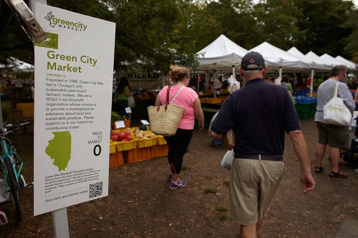 Green City Market is back outside TODAY! South end of Lincoln Park today, 7am-1pm https://t.co/AyZS7ekzzb