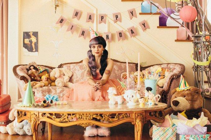 Happy Birthday Melanie Adele Martinez!!!! Best wishes,  Your new Crybaby