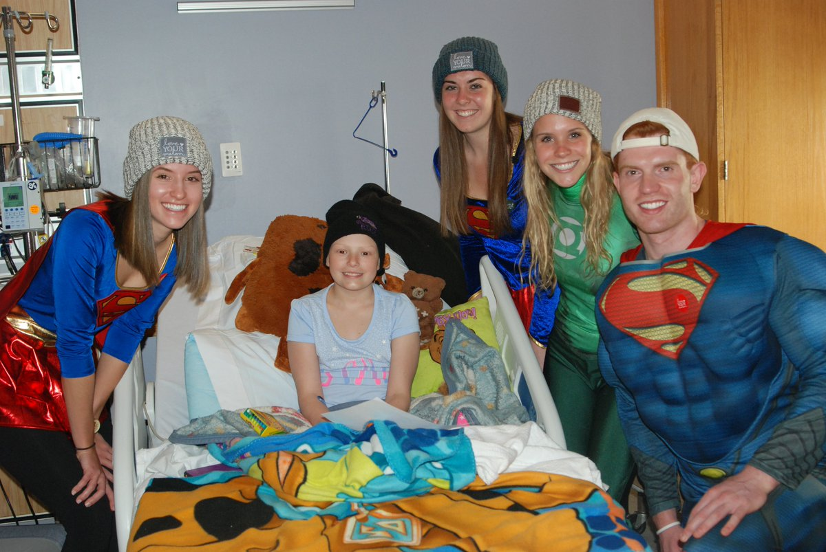 We're celebrating Superhero Day with the Boston College @LoveYourMelon Campus Crew! https://t.co/3HrkDyprOk