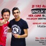 Geç kalma, Genç Kal :) Her Cuma Yolgeçen Hanında saat 19.30da.. https://t.co/6f44hYOOBQ