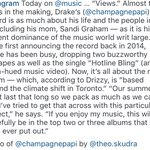 Instagram makes a post about Drake and VIEWS. https://t.co/uBsrZP9OTq