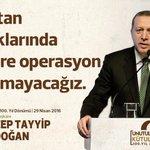 """""""Bu vatan topraklarında hainlere operasyon yaptırmayacağız."""" @RT_Erdogan https://t.co/U9heQK8wRb"""