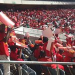The #EFFManifestoLaunch is picking up! Well only start once all Fighters &GroundForces are settled! #Asiphelelanga! https://t.co/rgwmhcMSgc