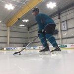 First on the ice. #SJSharks https://t.co/ztkIvGztkJ