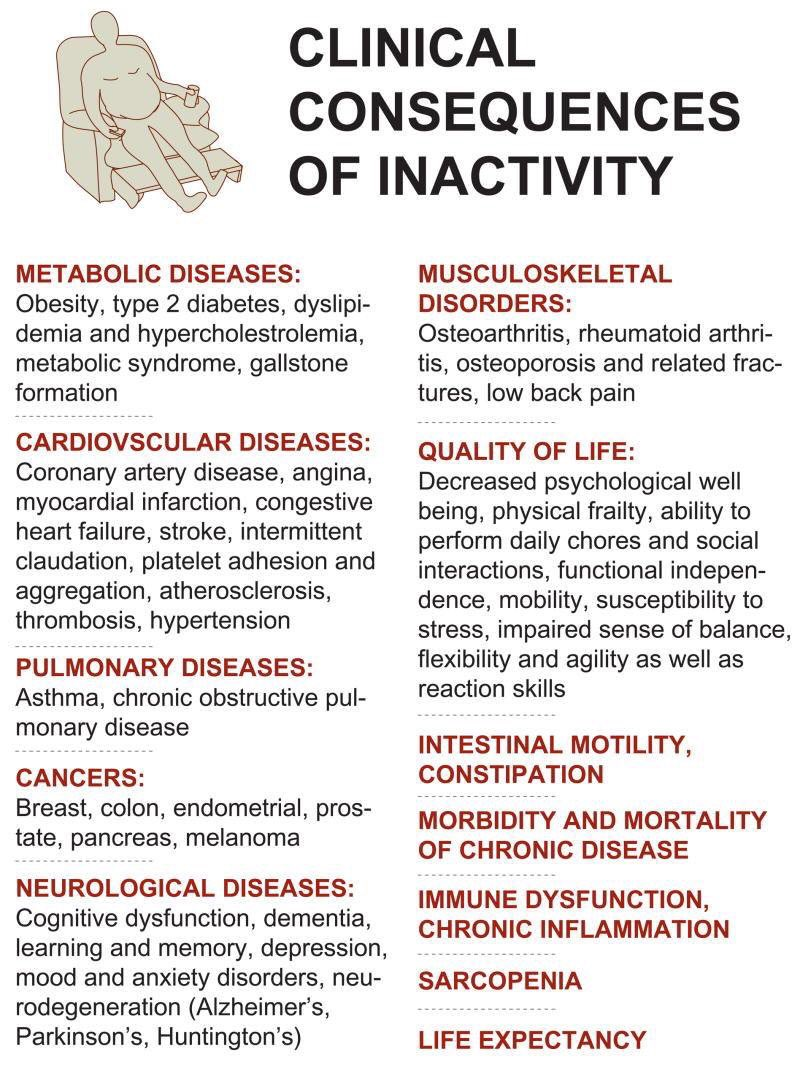 Inactivity causes ill health & disease:  =MOVE much more =Sit much less =EXERCISE daily  Protect YOUR health! https://t.co/H25NjZNwDZ