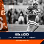Welcome to #BroncosCountry, @AndyJanovich!  #BroncosDraft https://t.co/qDjF8GhYh1