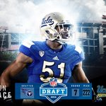 From #UCLA to Tennessee. Congrats to the newest member of the @Titans Aaron Wallace. #NFLBruins #NFLDraft https://t.co/mhR5pzsOKc