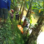 Pagi tadi ditemukan sesosok mayat di bantaran sungai sapuro Pekalongan, diduga korban pembunuhan. foto: @ddstya https://t.co/A3AnV7x8lG