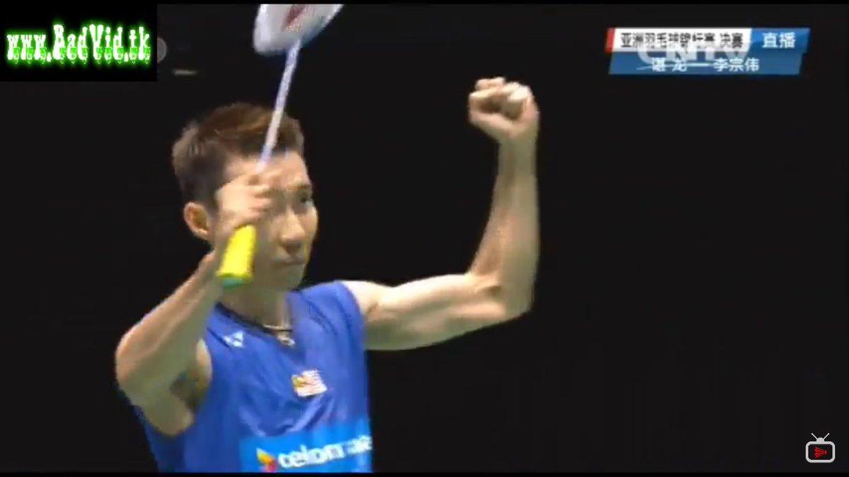 Super proud of Malaysian hero Dato' @LeeChongWei as he snags the Championship at the #BAC2016 win over Chen Long! https://t.co/KSJv27jjzN