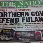 Northern Governors defend Fulani Terrorists but in #biafra land governors dissociate from peaceful IPOB protesters, https://t.co/RJ7fubr8l4
