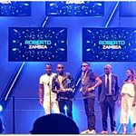 "Congratulations @RobertoZambia for winning the ""Pan African Artist Of The Year"" award at the #NAMA2016 Proud of YOU! https://t.co/nhZ8AKYCLG"