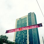 Broad St runs north and south, Temple leads everywhere!  #TempleRunsBroad #BroadStreetRun https://t.co/KmZj0BaMR7