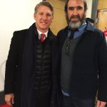 Met Eric Cantona today! One of my favorite players when I was a child. #legend #mufc https://t.co/HjRWYX9QHV