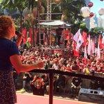 """Carina Vitral @uneoficial: """"A juventude vai barrar esse golpe. Os estudantes ñ vão permitir retrocessos."""" https://t.co/Q2HCeJ3zzf"""