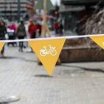 #CityBikes start rolling onto Helsinki streets today. Opening day event at Narinkka Square. https://t.co/oVBJksFSZ6 https://t.co/mRhafKtTmL