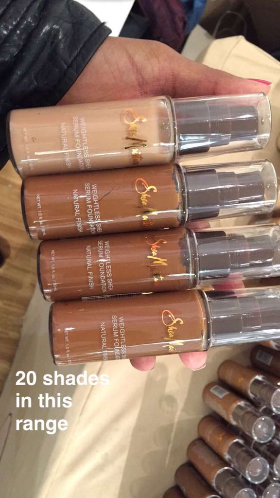 Be sure to check out @SheaMoisture on day 2 at @TheMakeupShow.They've released new liquid foundations.In 20 shades! https://t.co/2BVdapQ8DC