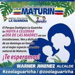 #Maturin | Te invitamos este Domingo 8 de Mayo a celebrar el Día de Las Madres @LaMejorMaturin @Warner_Jimenez https://t.co/x9Po8OSeRm