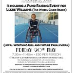 Future Paralympian from #Worthing! Come along to her fundraising event (20th May) - help buy a bespoke molded chair https://t.co/lAIdC02hmY