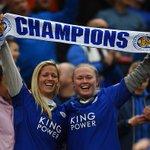 O pequeno Leicester mostra que o futebol é o melhor esporte do mundo. Que momento, não tem como não se emocionar! https://t.co/XOGPecd0XD