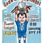 レスター優勝おめでとう!!! #Leicester #LeicesterCity #岡崎慎司 https://t.co/dyOaG5oRDk