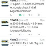 UPA paid 3.5 times in Augusta helicopter scam. #SoniaInAgustaScam https://t.co/Y3hBefxEgY