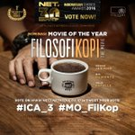 Dukung @filkopmovie jd Movie of The Year Indonesian Choice Award 2016. Tweet your vote with hastag #ICA_3 #Mo_Filkop https://t.co/w22tAI4K2u