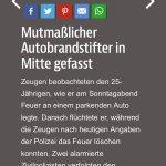 Mitte:25-Jähriger Neuköllner #Autobrandstifter in Untersuchungshaft.@bzberlin @Reporter_Flash @GdP_Dir4 @Djeron7 https://t.co/lBaCqTeNWJ