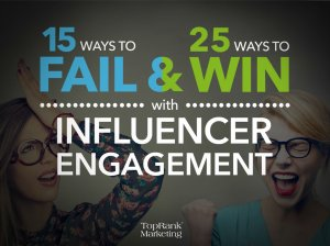 Boost your influencer marketing: 25 Ways to Win with Influencer Engagement (ebook) https://t.co/DVwf3w2EQD https://t.co/x1h0u79KRD