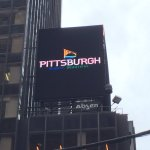 Mighty. Beautiful. Pittsburgh! RT @AylaSchermer I see you, #Pittsburgh ad in Times Square @vstpgh https://t.co/ltTwe4MPFp