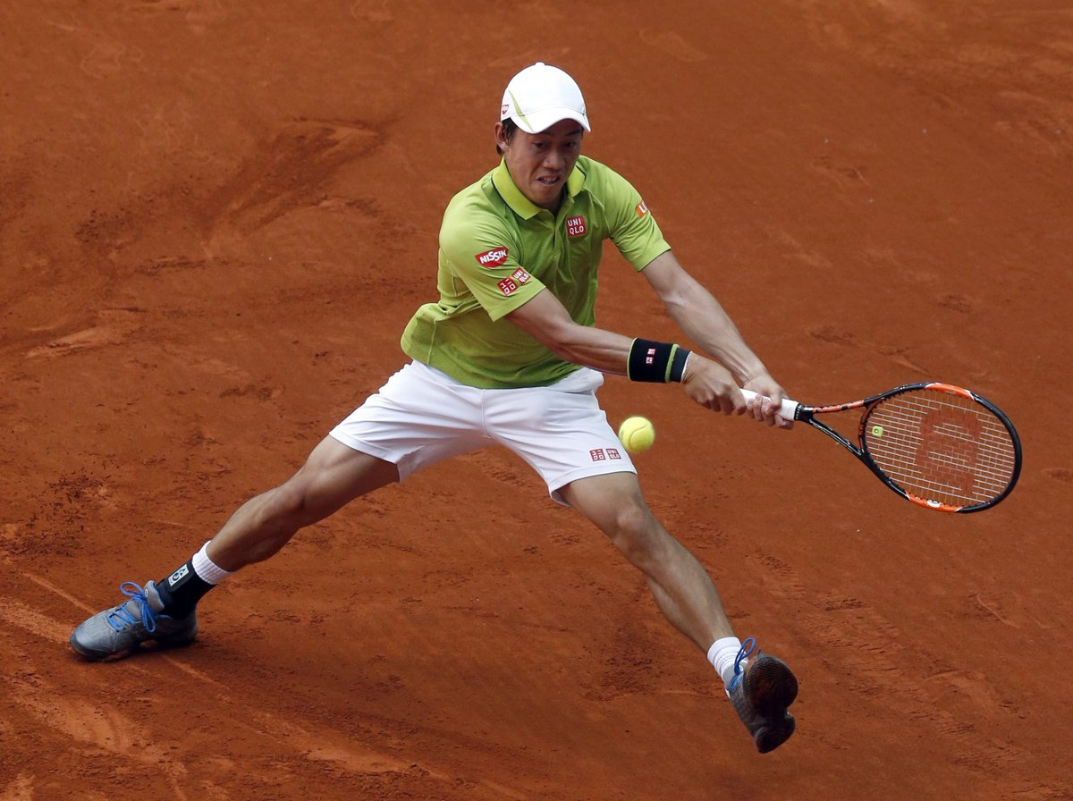 .@keinishikori defeated Fabio Fognini  6-2 3-6 7-5 to set up a meeting with Richard Gasquet in Madrid round 3 https://t.co/HBleCsEFKE