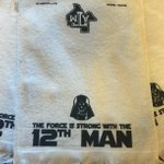 Were giving away #StarWars-themed #12thMan towels for #StarWarsDay! RT for a chance to win! #MayThe4thBeWithYou https://t.co/q0o5qhPXcG