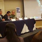Viceministro Ángel Ibarra participa en el foro sobre los acuerdos tomados sobre cambio climático en París https://t.co/kirB2BxOz1