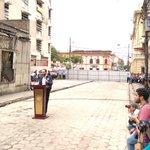 Alcade @nayibbukele dijo que la Calle Delgado será un parque lineal que conducirá al Teatro Nacional https://t.co/hehD82YR0h