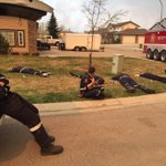 Our crew taking their first rest since leaving #shpk yesterday evening. #ymmfire https://t.co/a2iBdU1xhg