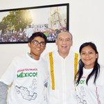 Un honor conocer y saludar a Don @Heliodoro_hcde muchas gracias por sus palabras #EsTiempoDeCrecerJuntos https://t.co/METm3mA0rv