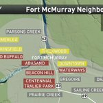 Snapshot of areas hit hard in #FortMcMurray by devastating destruction by #ymmfire @weathernetwork #FortMacFire https://t.co/DOJGOI4Efe