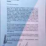 Excusas y mentiras del Fujimorismo. @KeikoFujimori SI fué invitada para debate en el Sur.@pedrospadaro miente!!!!!!! https://t.co/UZfnGN99gj