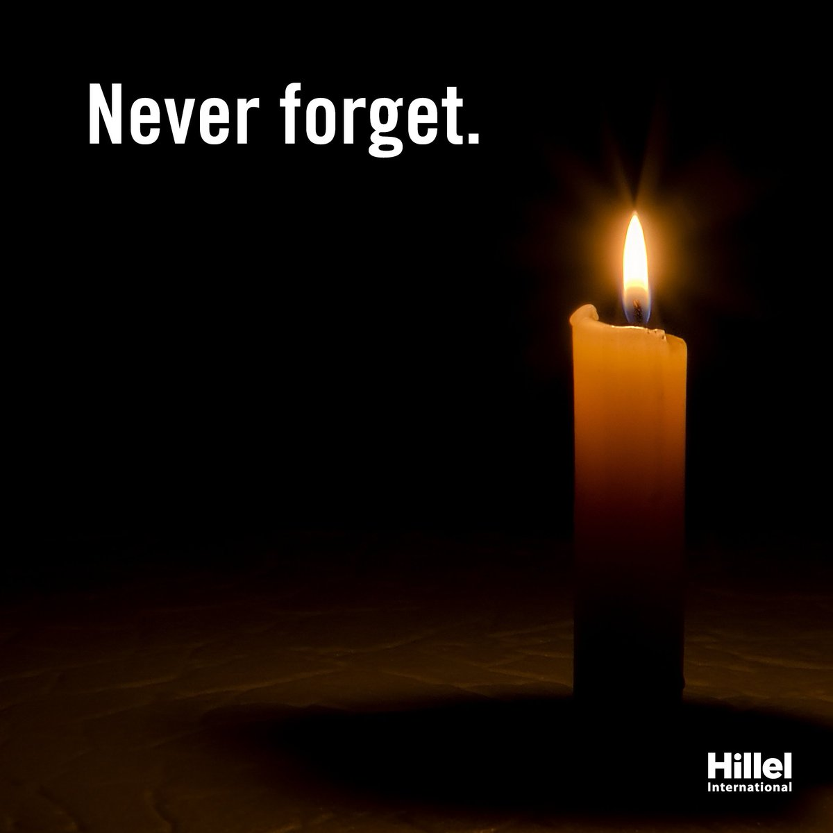 Today is Yom HaShoah (Holocaust Remembrance Day).  Join us in remembering the millions of lives lost. https://t.co/m9KRFSTqgQ