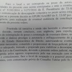 Trecho da liminar de reintegraçao de posse da @alesp_oficial. A justiça paulista autorizou o uso da força policial! https://t.co/RsCa7a9YuS