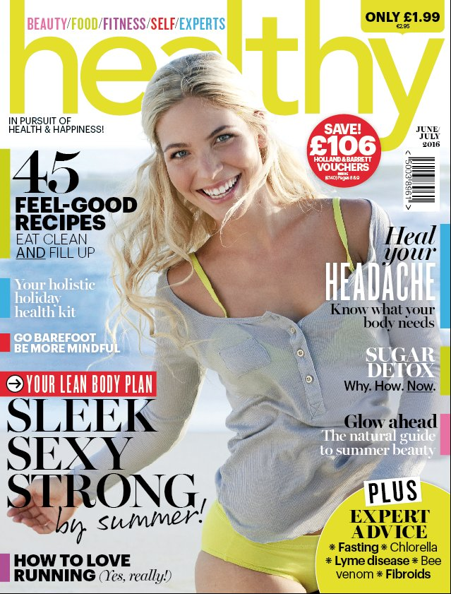 We are loving this sunshine. Pick up the new @healthymag in-store from today for a #projectsummer body plan :) https://t.co/sCKw6iU7CZ