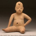 "Happy #CincoDeMayo! This favourite ""baby"" figure from our collection is from the Tlapacoya region in Mexico. https://t.co/sNCuQNpMjR"