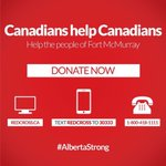 I invite Canadians to help those affected by #FortMacFire by donating to the @redcrosscanada https://t.co/vMF7JGKWqE