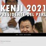 Ya teníamos suficiente con Keiko y sale esto #KenjiPresidente https://t.co/3lQyXgedvo