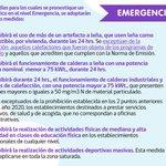Informamos que mañana viernes 06 de mayo nos encontraremos en EMERGENCIA AMBIENTAL, con PROHIBICIONES. https://t.co/lTbwtClEgM